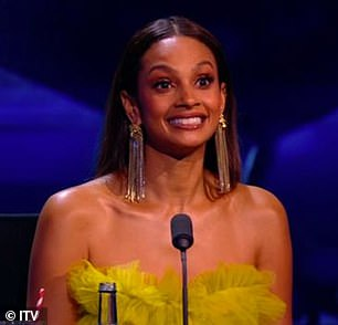 Britain's Got Talent fans are left baffled after Alesha Dixon's right earring vanishes during final 7