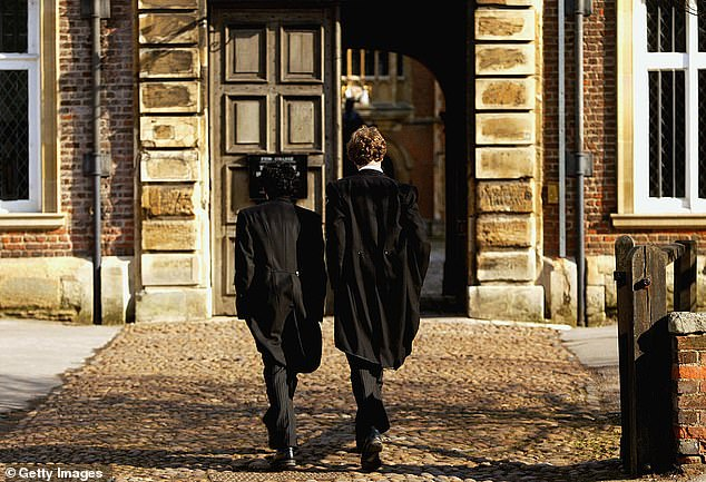 Pupils at Eton College sent home to isolate after 'a significant number' of students test positive 2