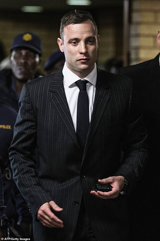 Killer Paralympian Oscar Pistorius is desperate for forgiveness after shooting his girlfriend dead 6