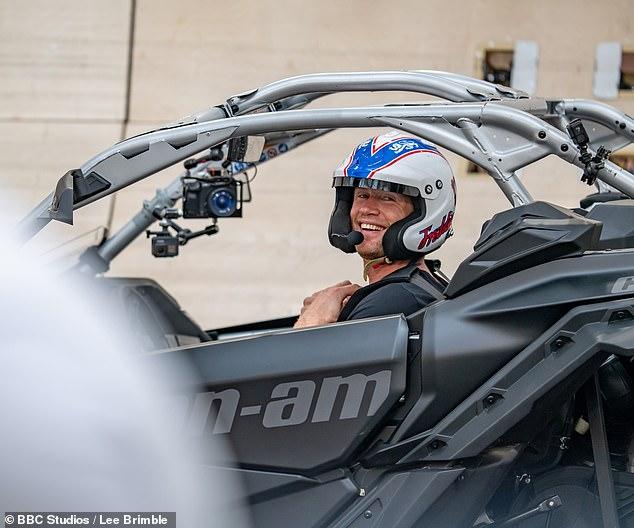 Top Gear's Freddie Flintoff attempts gravity-defying stunt on Wall of Death in Maserati write-off 4