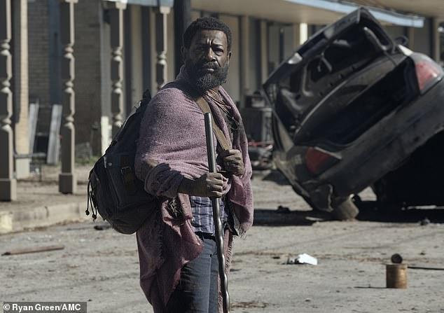 Fear The Walking Dead: Morgan Jones declares own death to nemesis Virginia after beheading assassin 6