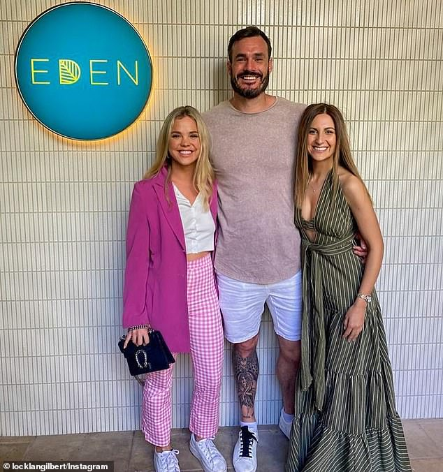 Locky Gilbert beams in Bondi Beach days after his shady remarks about Bella Varelis 6