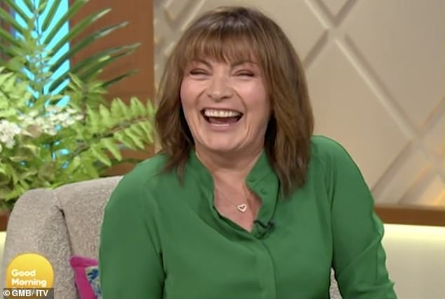 Lorraine Kelly got 'extremely drunk' to celebrate being made a CBE in Queen's Birthday Honours 10