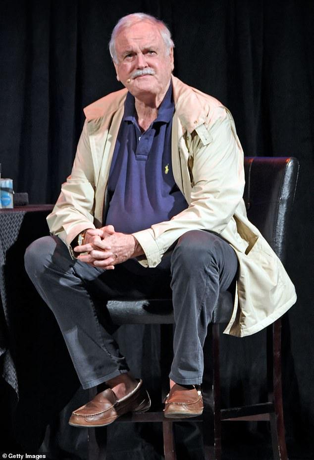 John Cleese brands late Monty Python co-star Graham Chapman a 'FANTASIST' 5