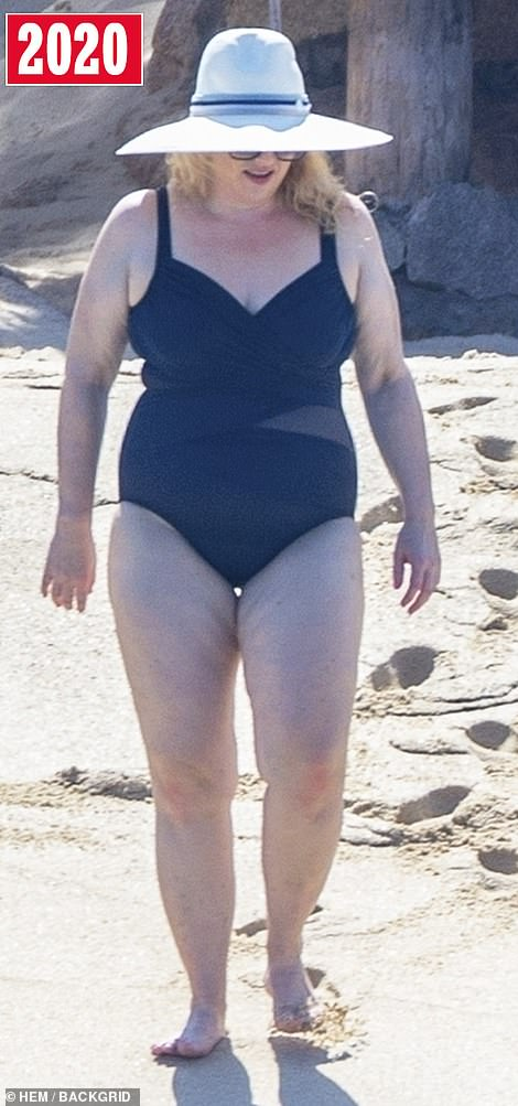 Rebel Wilson EXCLUSIVE: Shrinking star, 40, shows off incredible 40 lb weight loss in swimwear 1