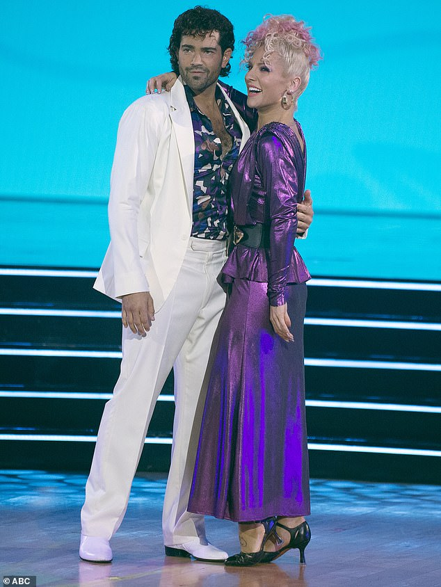 Dancing With The Stars: Jesse Metcalfe gets eliminated after tango with Sharna Burgess on '80s Night 3