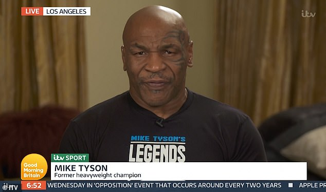 Mike Tyson, 54, sparks concern during slurring Good Morning Britain interview 1