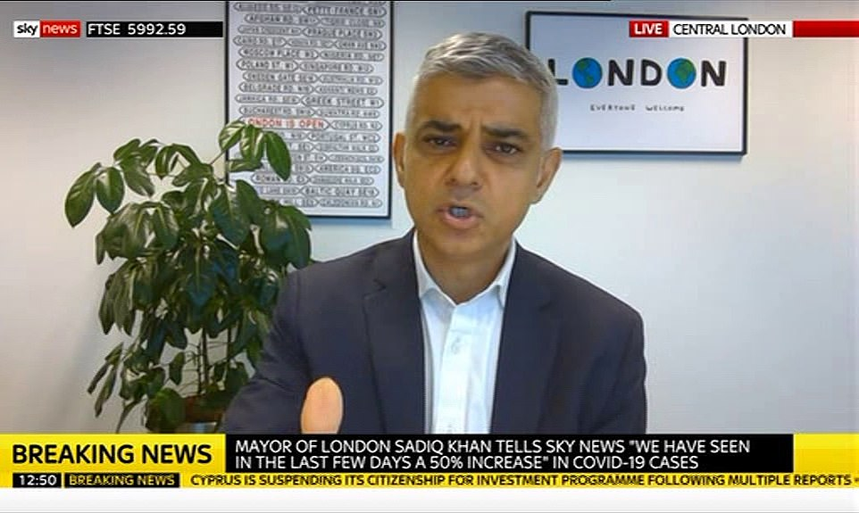 Coronavirus UK: Sadiq Khan says London will enter lockdown as 'one city' 3