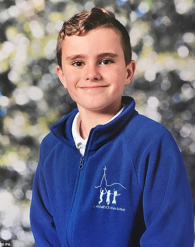 Boy, nine, was killed after school changing room locker he was climbing on toppled over 10