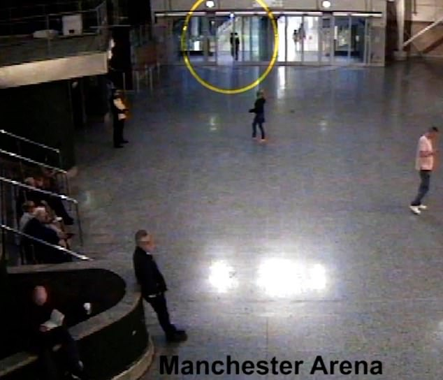 Manchester Arena suicide bomber Salman Abedi hid for an HOUR in CCTV blind spot 3