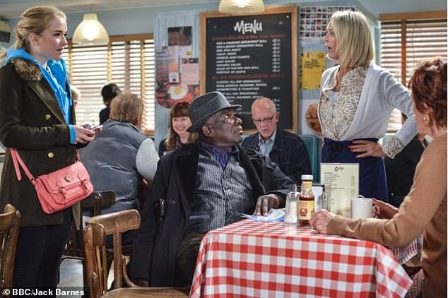 EastEnders' café 'ditches traditional bacon and sausage fry ups for QUORN' 5
