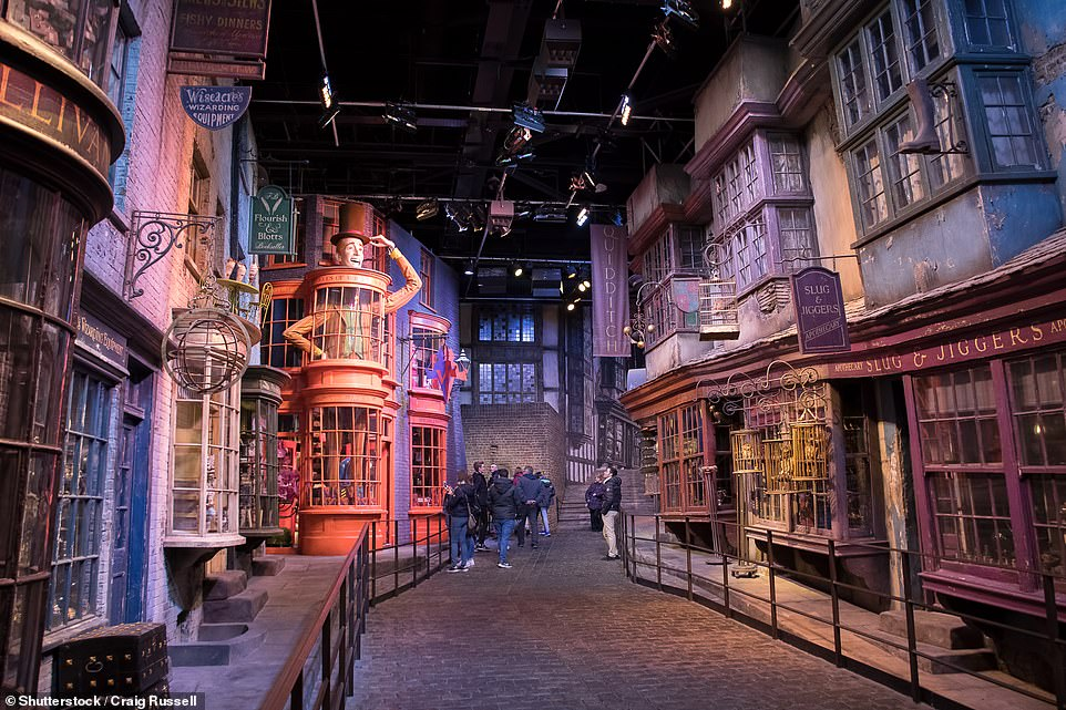 Diagon Alley Harry Potter film set to be covered in snow for first time at Warner Bros Tour London 6