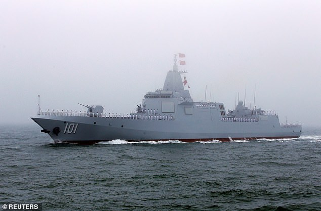 Chinese navy's newest destroyer 'can strike stealth aircraft and take down satellites' 4