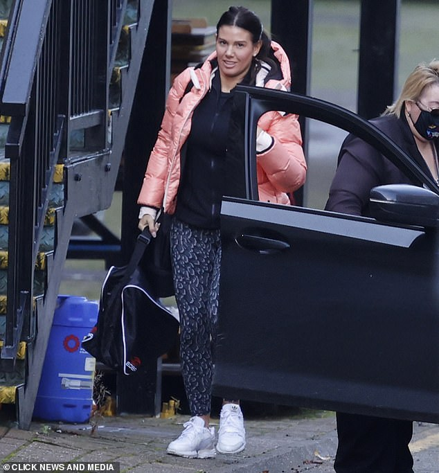 Dancing On Ice: Rebekah Vardy joins Myleene Klass and Denise van Outen for first day of rehearsals 10