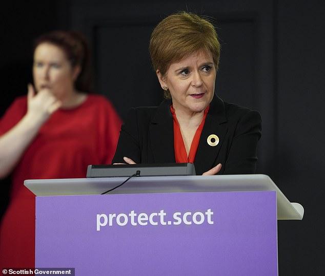 Nicola Sturgeon warns Scots NOT to travel to Blackpool 4