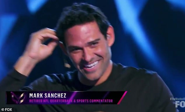 The Masked Singer: Mark Sanchez removes Baby Alien mask after stumping everybody on hit Fox show 3