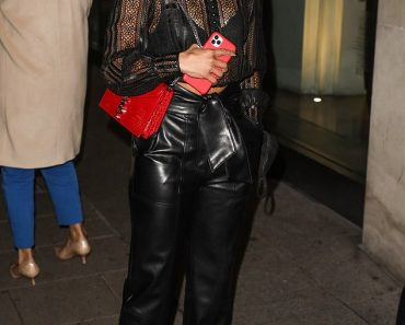 Alex Scott cuts a stylish figure in a SHEER top as she celebrates her 36th birthday 2