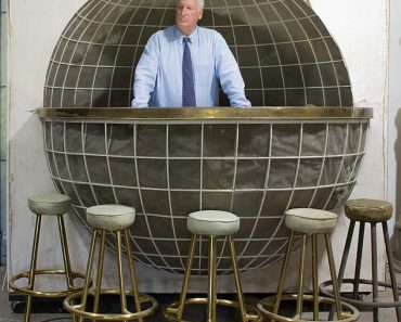 Hitler's globe-shaped yacht bar emerges for sale after being kept in a Maryland barn for 70 years 6