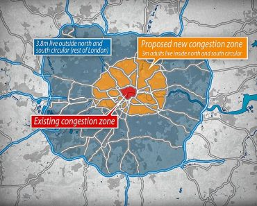 Londoners could face £27.50 daily congestion charge under Government bailout of TfL 2