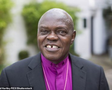 Fury as Britain's first black archbishop John Sentamu, 71, is not awarded automatic life peerage 1