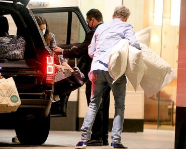 David Foster, 70, dotes on pregnant wife Katharine McPhee, 36, after enjoying a romantic weekend 4
