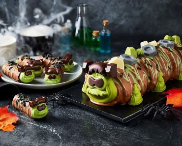 Marks & Spencer unveil Frankencolin the caterpillar who seems to be a fan favourite already 5