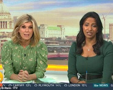 Kate Garraway becomes emotional as she watches video of a boy with cancer reunited with his family 4