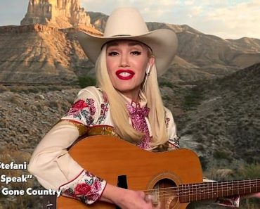 Gwen Stefani does country renditions of her songs Don't Speak and Hollaback Girl 6
