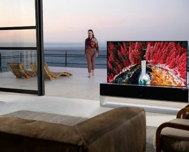 LG's rollable 65-inch TV with a OLED 8K screen goes on sale for an eye-watering $87,000 3