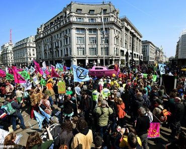 Extinction Rebellion protesters cost taxpayers £15 MILLION in policing costs since April 1