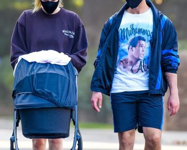 Sophie Turner and Joe Jonas takes their adorable two-month-old daughter Willa on a mid-day stroll 8