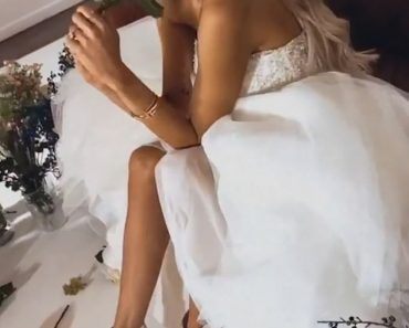 Olivia Attwood tries on dresses ahead of wedding to Bradley Dack 5