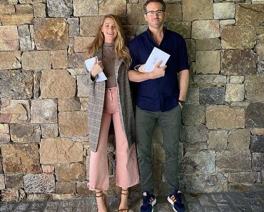 Ryan Reynolds votes for the first time in a US election but fans focus on Blake Lively's bare feet 6
