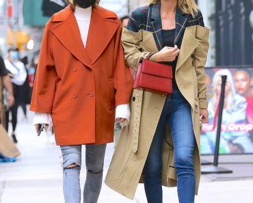 Nicky Hilton embraces big city chic as she steps out in camel trench coat and skinny jeans  3