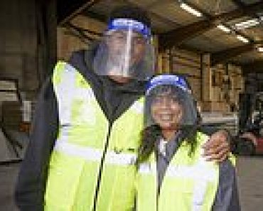 Marcus Rashford helps out at charity that feeds vulnerable children 12