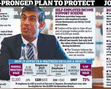 Rishi Sunak reveals fresh £22bn bailout pot to head off a jobs bloodbath 4