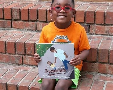 Five-year-old and his dad publish a children's book about the pandemic 4