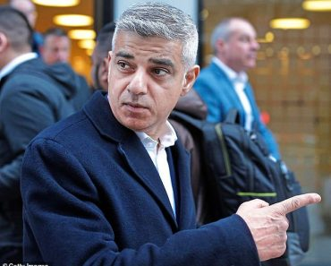 TALK OF THE TOWN: Sadiq Khan spends his 50th birthday telling diners to leave a restaurant 10