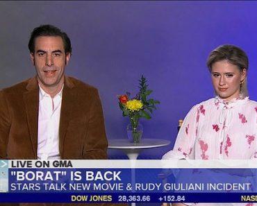 Sacha Baron Cohen thinks it would be a 'travesty' if his co-star Maria Bakalova gets Oscar snub 8