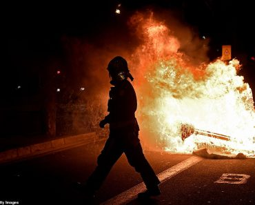 Furious anti-lockdown protests erupt across Europe 8